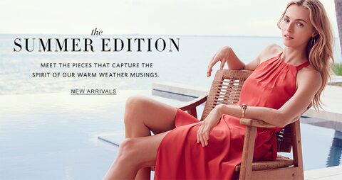 The Summer Edition | Meet the pieces that capture the spirit of our warm weather musings | New Arrivals