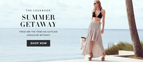 The Lookbook: Summer Getaway | These are the items no suitcase should be without | Shop Now