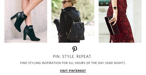Pin.  Style.  Repeat.  Find styling inspiration for all hours of the day (and night).