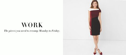 Work. The pieces you need to revamp Monday to Friday.