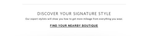 Click here to find your nearby boutique