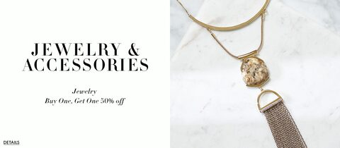Jewelry and accessories. Jewelry. Buy one get one 50% off. Details.