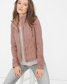 Washed Mauve Jacket