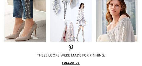 Visit our Pinterest for styling inspiration | Follow Us