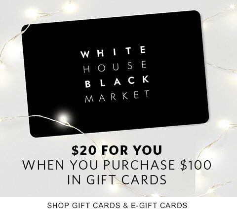 The gift that keeps Giving $20 for you when you purchase $100 in gift cards Shop Gift Cards & E-Gift Cards