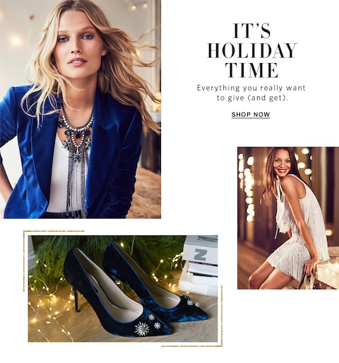 It's Holiday Time. Everything you really want to give(and get). Shop now.