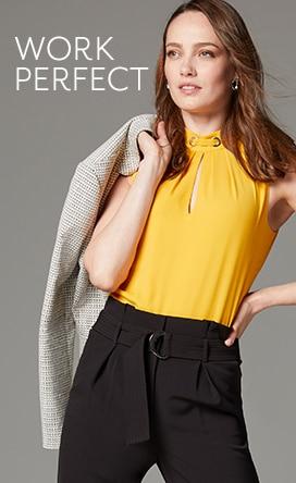 Shop Tops For Women - White Blouses, Black Blouses, Work
