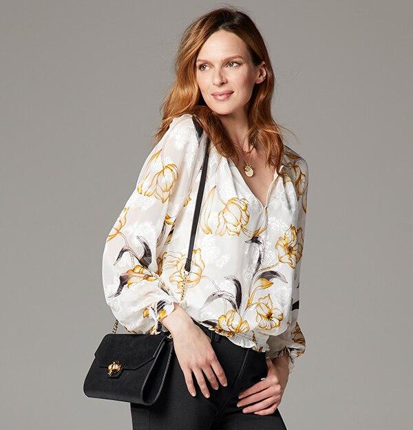 ceec4c0c7c4 Shop Tops For Women - White Blouses, Black Blouses, Work Shirts ...
