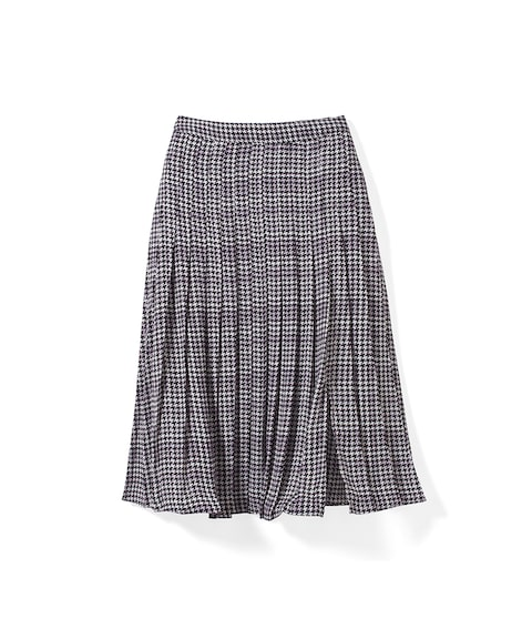 Houndstooth Soft Skirt