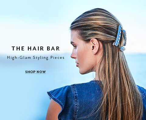 The Hair Bar. High-glam styling pieces. Shop Now.