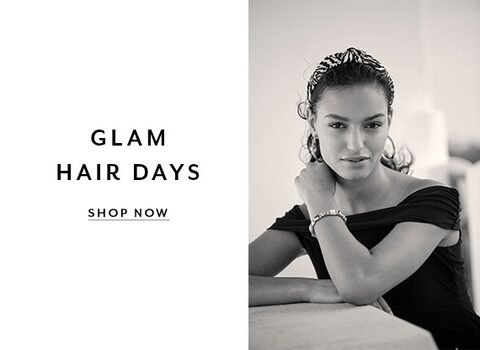 Glam Hair Days. Shop Now.