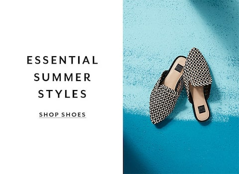Essential Summer Styles. Shop Shoes
