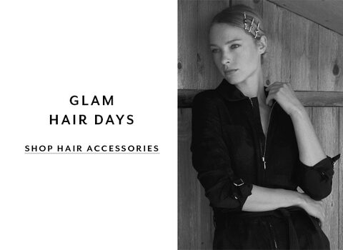 Glam Hair Days. Shop Hair Accessories.