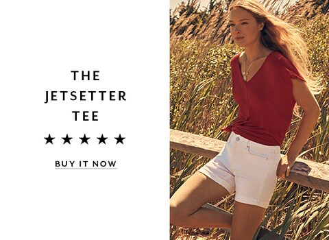 The JetSetter Tee. Shop Now