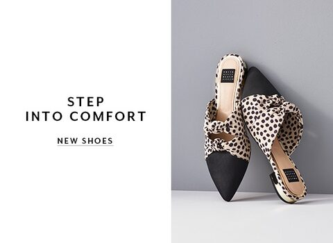 Step. Into Comfort