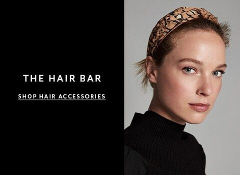 The Hair Bar. Shop Hair Accessories.