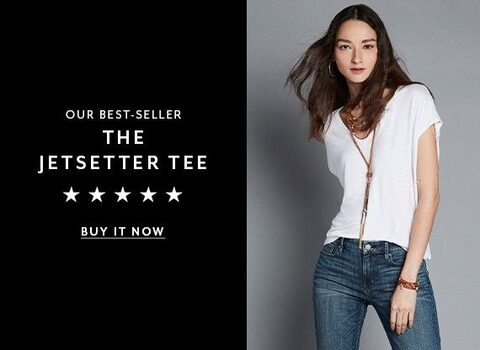 Our Best-Seller. The JetSetter Tee. Buy It Now