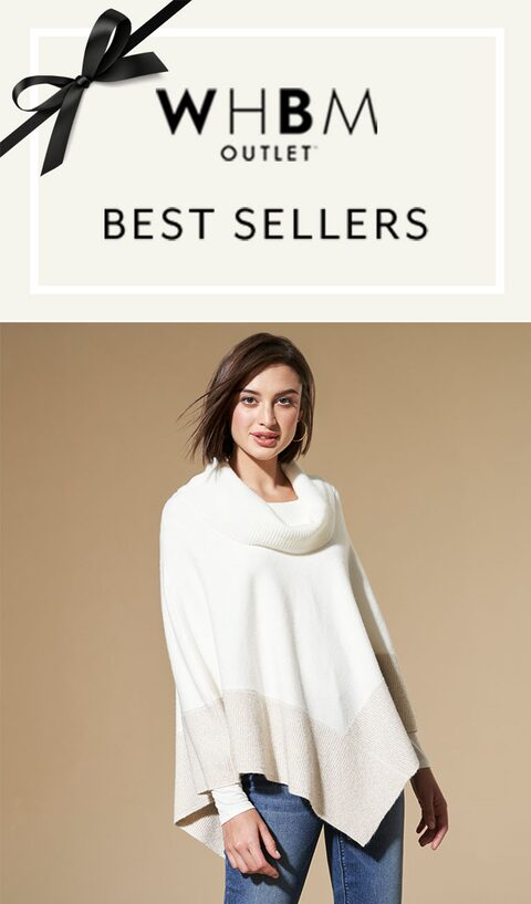 WHBM Outlet. Best Sellers.