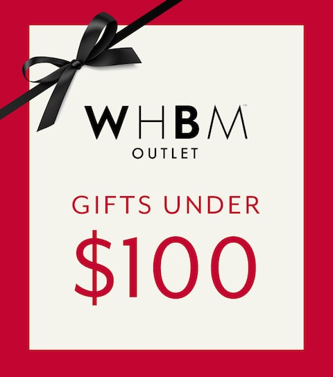 WHBM Outlet. Outfits under $100.