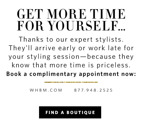 WHBM - Gift Guide Modal - Personal Styling - White House