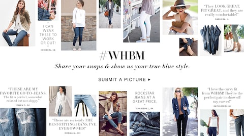 #WHBM Share your snapes and show us your true blue style.  Submit a Picture.